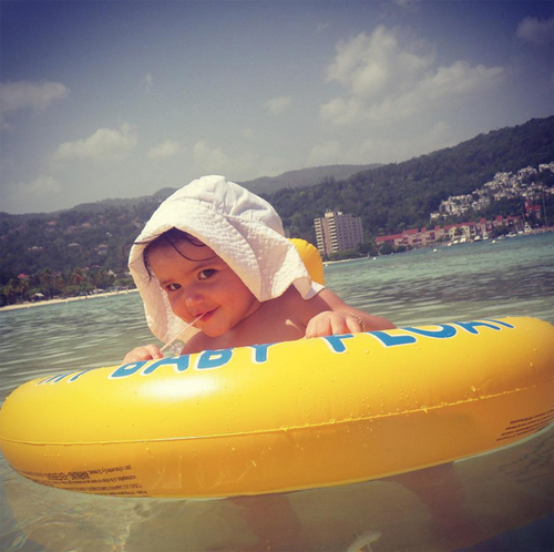 Bebés en Instagram, Lola Ponce