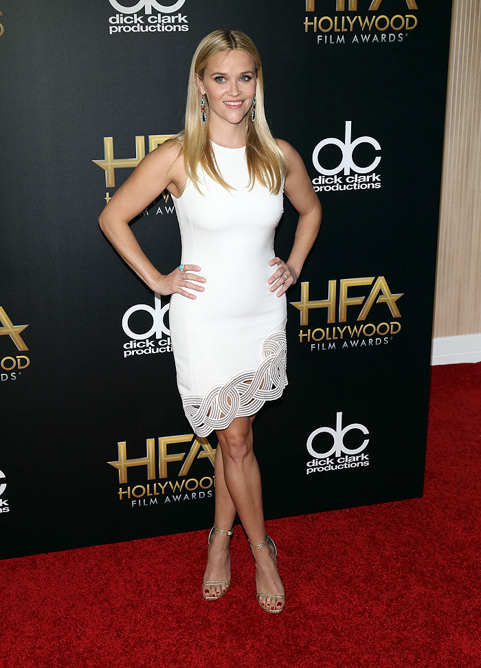 Reese Witherspoon, tendencia blanco
