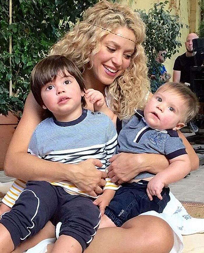 Milan, Sasha, Shakira