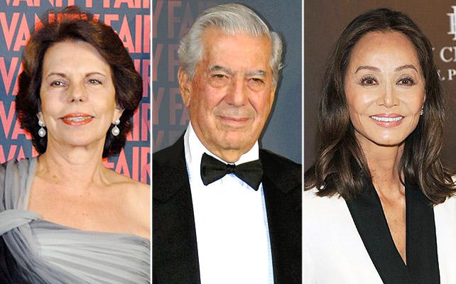 Patricia Llosa, Mario Vargas Llosa, Isabel Preysler