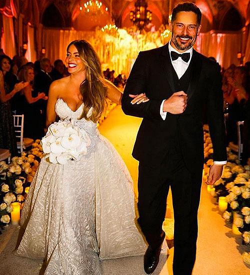 Sofía Vergara, boda