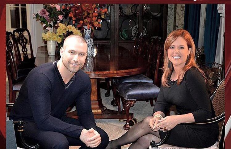 Rafael Amaya y Maria Celeste Arrarás