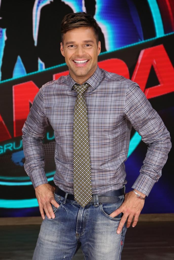 Ricky Martin y CNCO