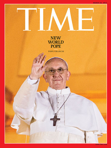 Papa Francisco, Time Person of the Year