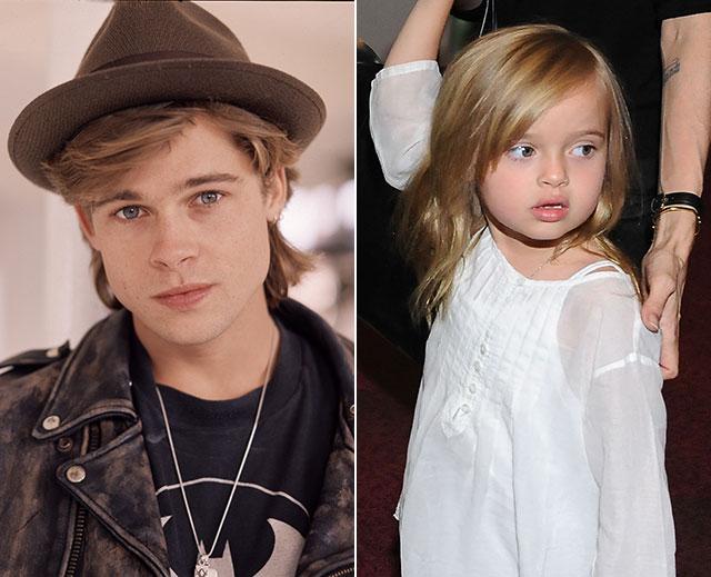 Brad Pitt, Vivienne Jolie-Pitt