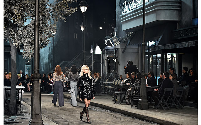 Chanel show Roma