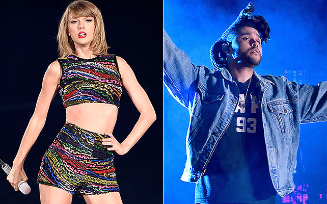 Taylor Swift, The Weeknd