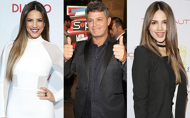 Gaby Espino, Alejandro Sanz, Eiza González