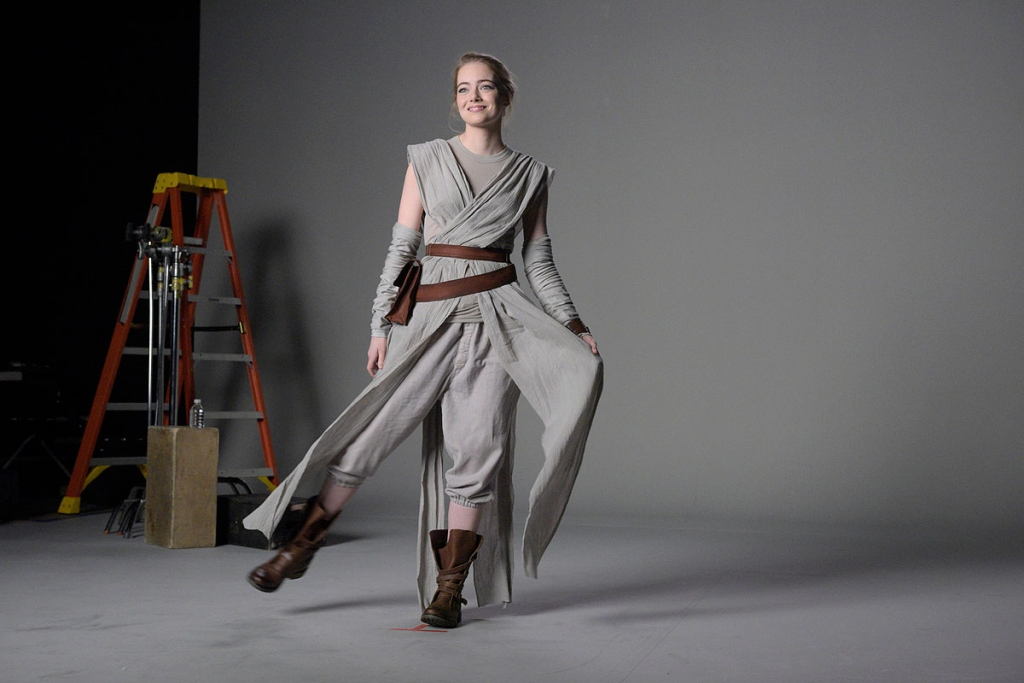 Fiebre de Star Wars, Emma Stone