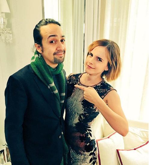 Lin-Manuel Miranda, Hamilton, Emma Watson