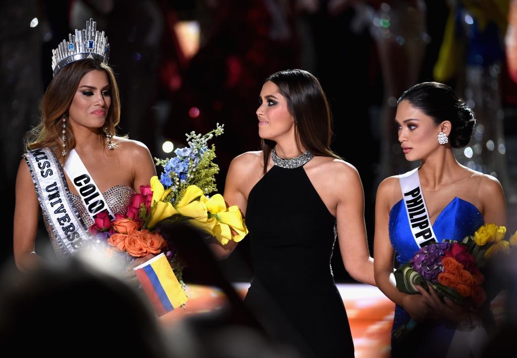 Ariadna Gutiérrez, Paulina Vega y Pia Alonzo Wurtzbach