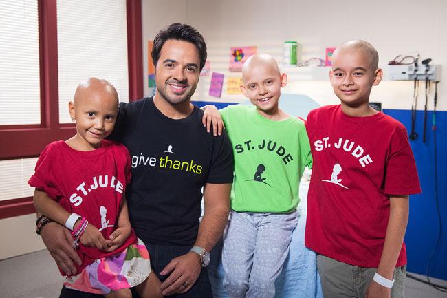 Luis Fonsi campaña del hospital St. Jude