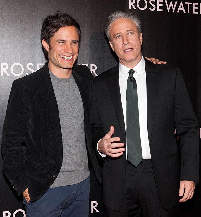 Jon Stewart, Gael García Bernal