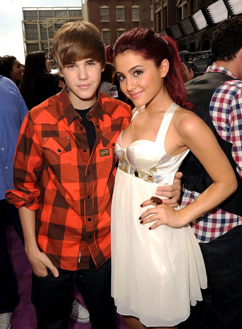Parejas para Bieber, Ariana Grande