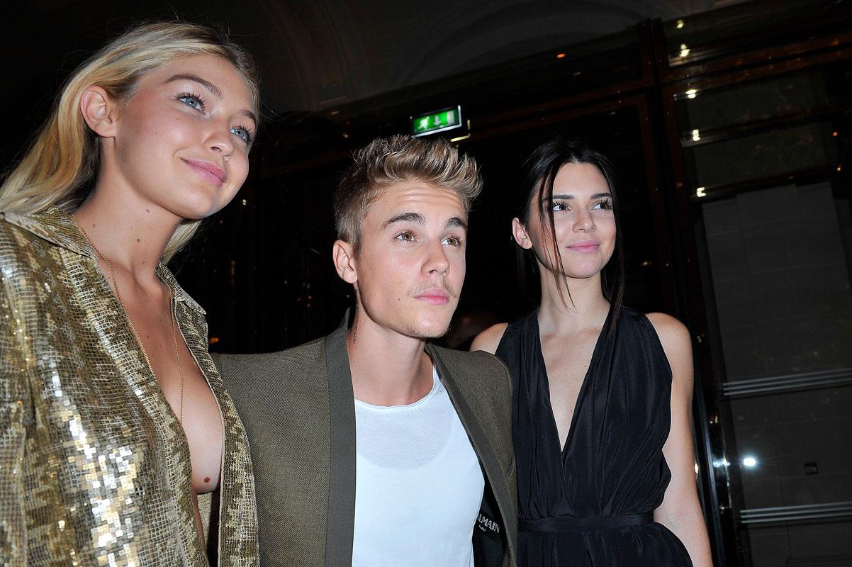 parejas para Bieber, Gigi Hadid