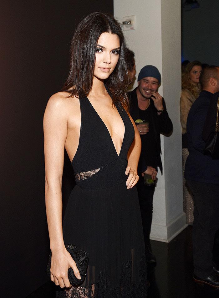 Escotes más sexys, 2015, Kendall Jenner