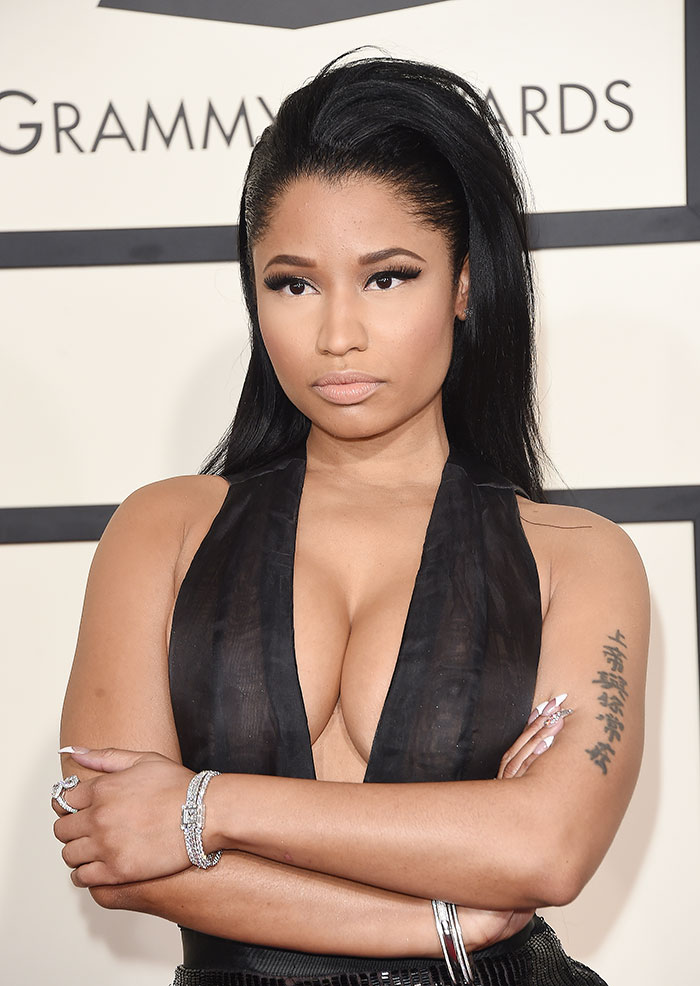 Escotes más sexys, 2015, Nicki Minaj