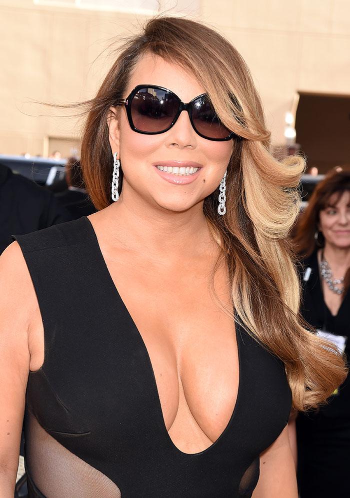 Escotes más sexys, 2015, Mariah Carey