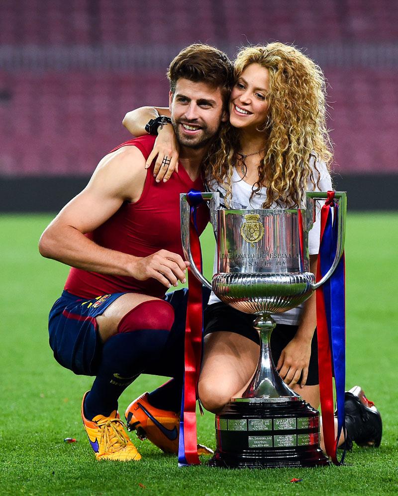 Parejas poderosas, Shakira & Gerard Piqué