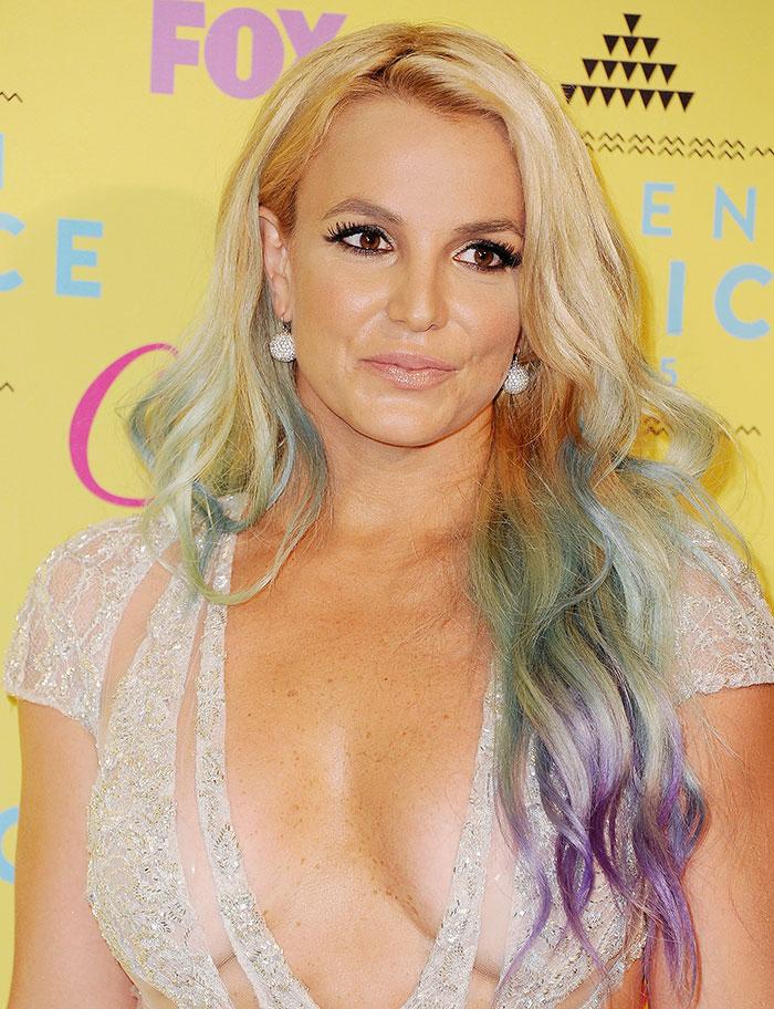 Escotes más sexys, 2015, Britney Spears