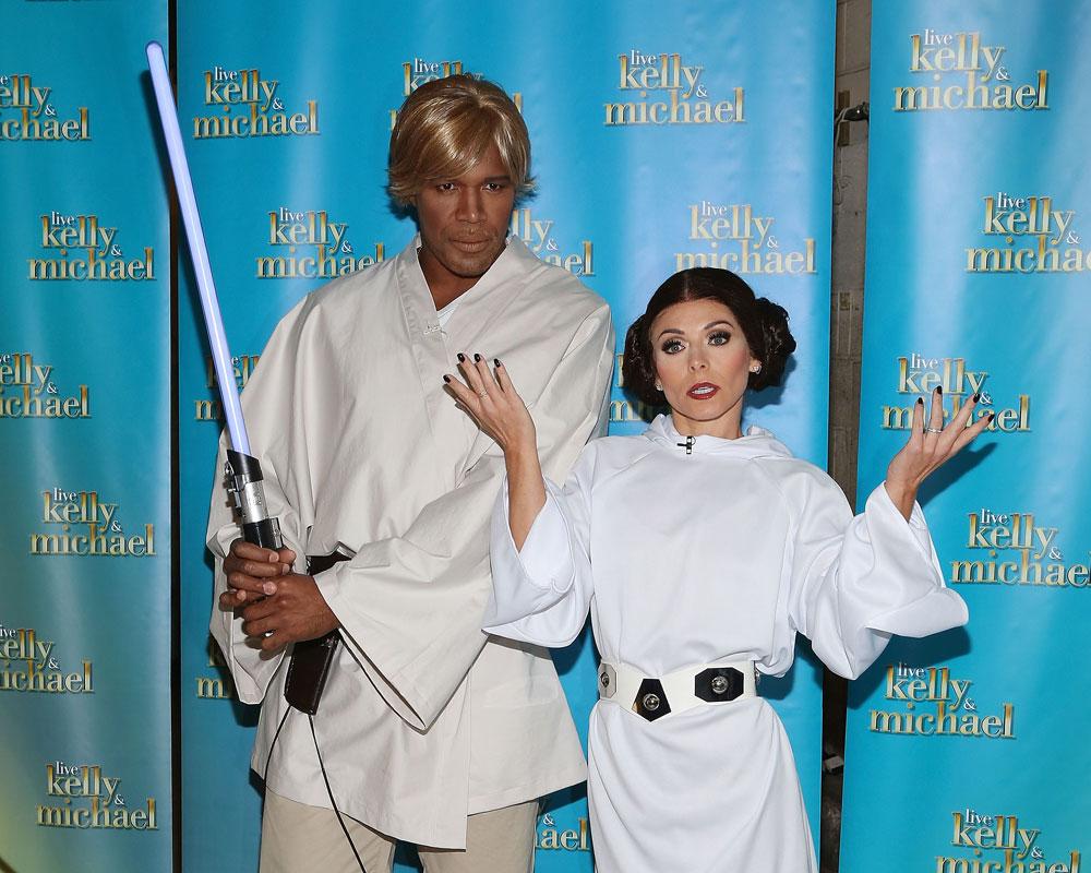 Fiebre de Star Wars, Michael Strahan, Kelly Ripa