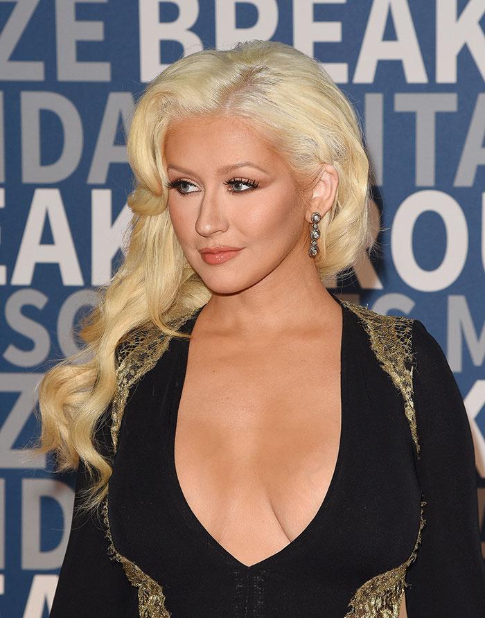Escotes más sexys, 2015, Christina Aguilera