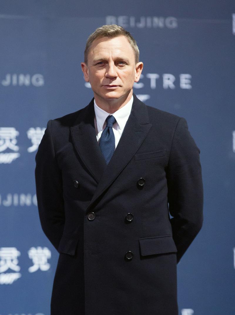 Forbes, actores mejores pagados, Daniel Craig