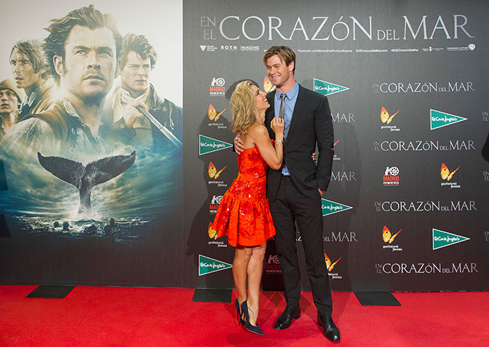 Miralos, Chris Hemsworth, Elsa Pataky