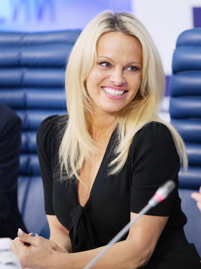 Problemas con el fisco, Pamela Anderson