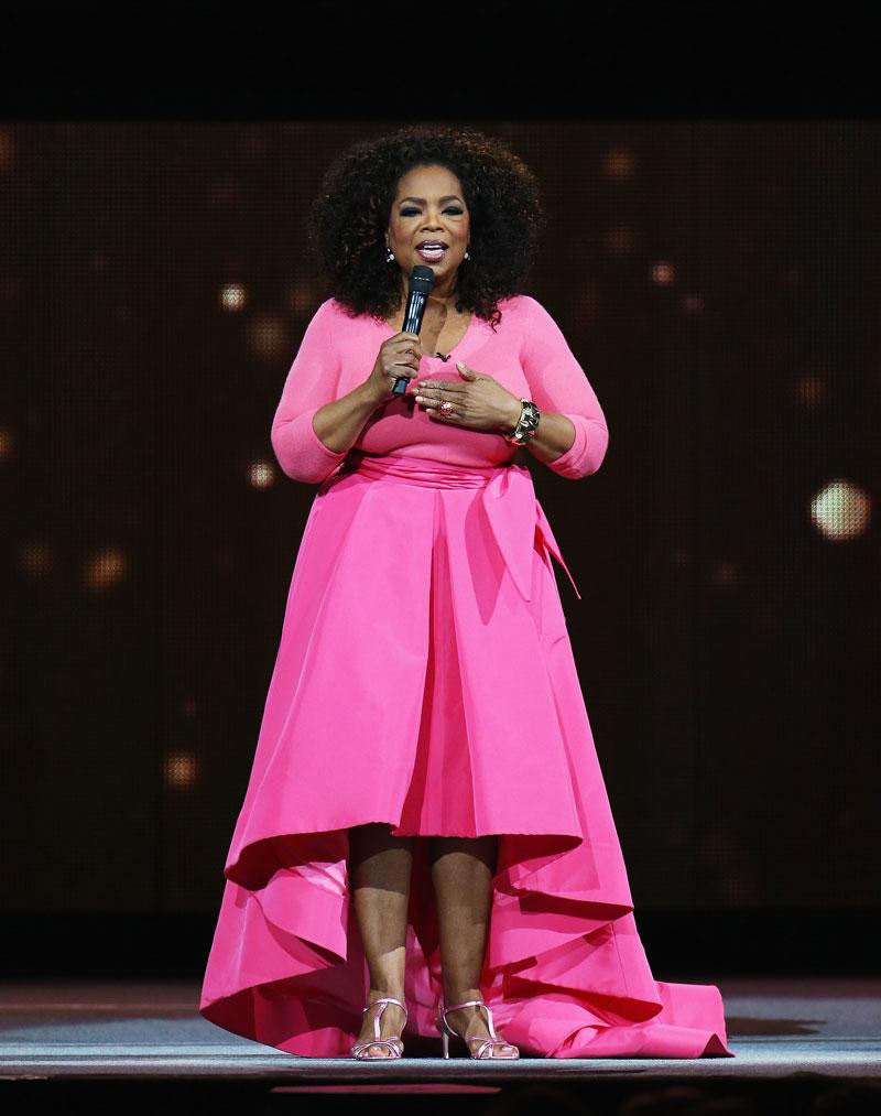 Reinas de belleza, Oprah Winfrey