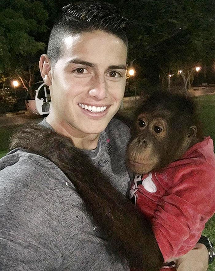 Famosos en Instagram, James Rodríguez