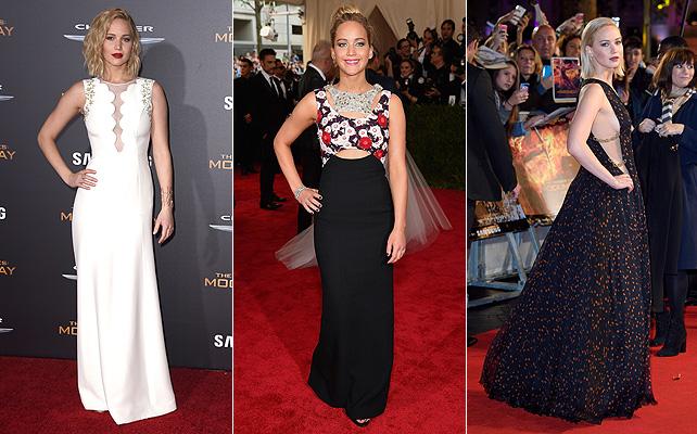 Jennifer Lawrence, alfombra roja