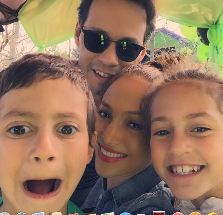 Jennifer Lopez, Marc Anthony, Max, Emme