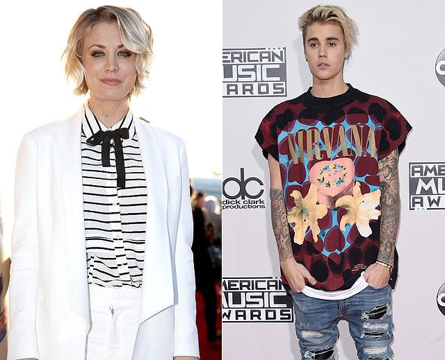 Parejas para Bieber, Kaley Cuoco