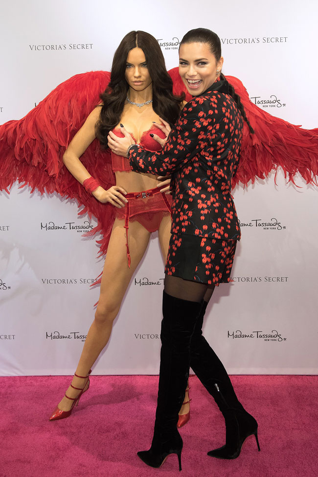 Adriana Lima, figura de cera