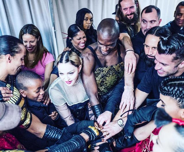 Instagram, Madonna