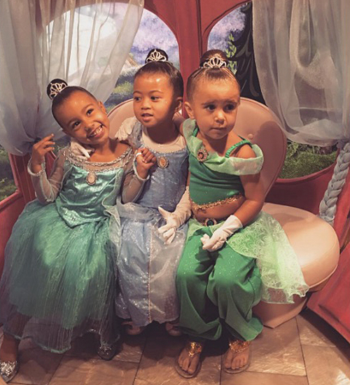North West, Penelope Disick, Ryan Romulus
