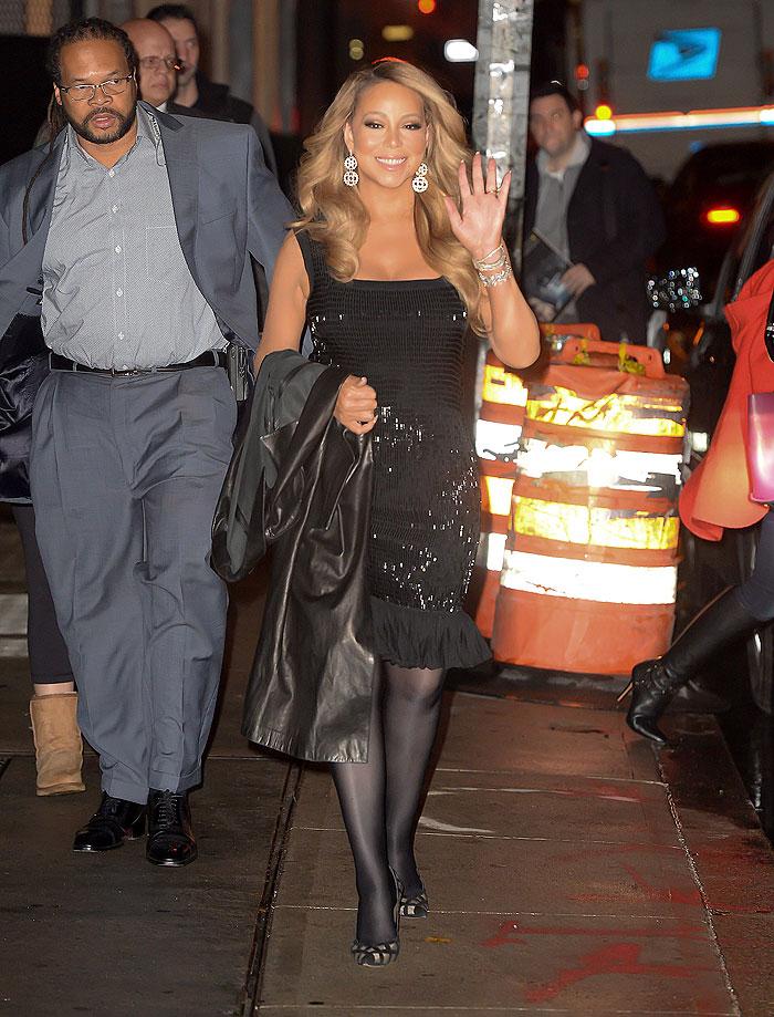 Mariah Carey, look del día