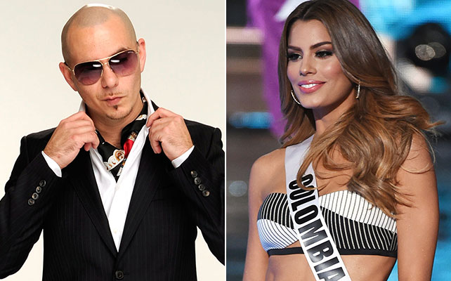Pitbull, Miss Colombia
