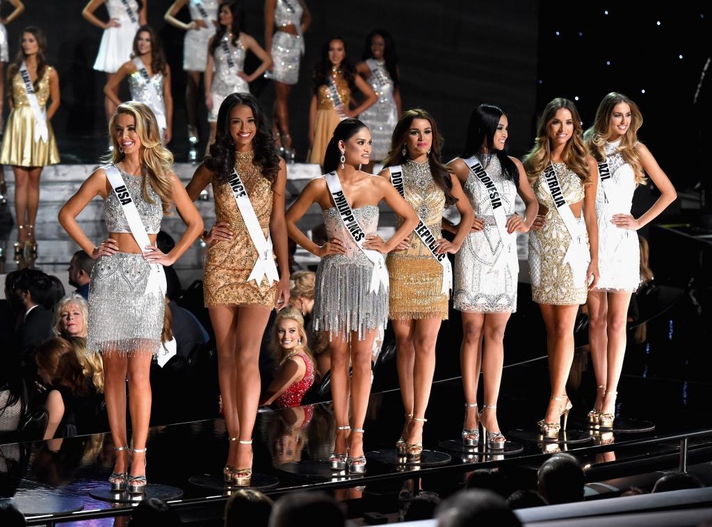 Finalistas de Miss Universe 2015