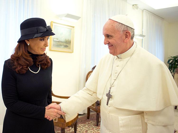 Cristina Kirchner, Papa Francisco, Jorge Bergoglio, Míralos