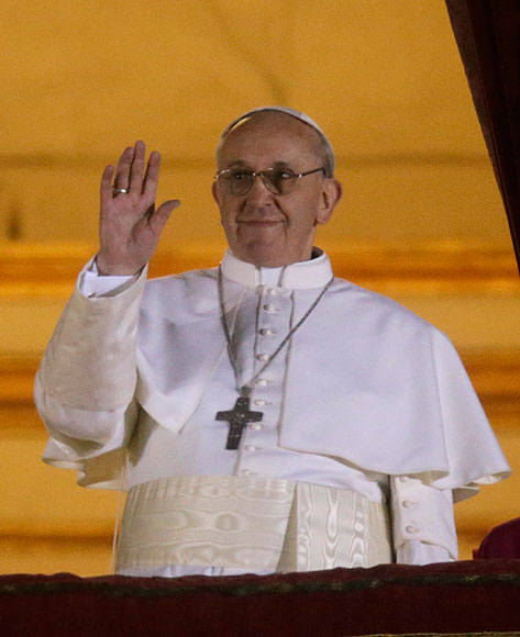 Jorge Mario Bergoglio, primer año de papado
