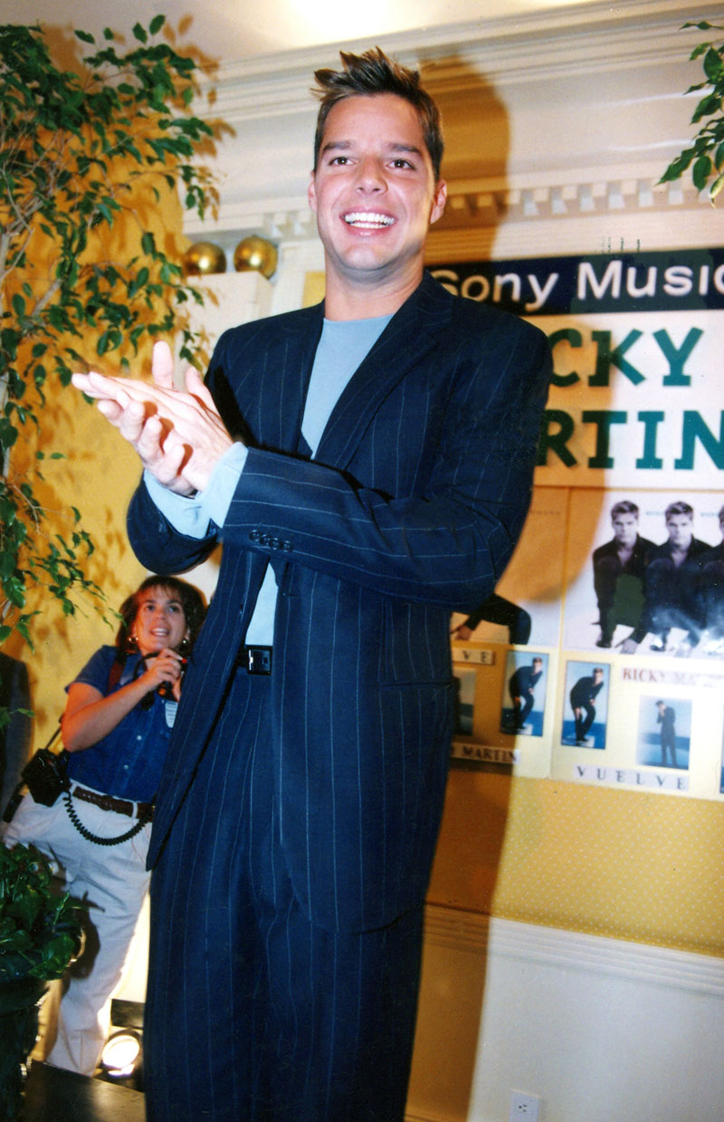 Ricky Martin, evolución