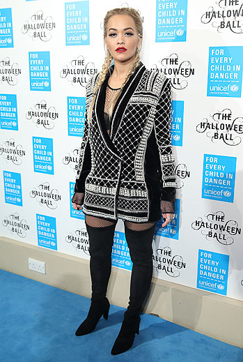 Rita Ora, boots