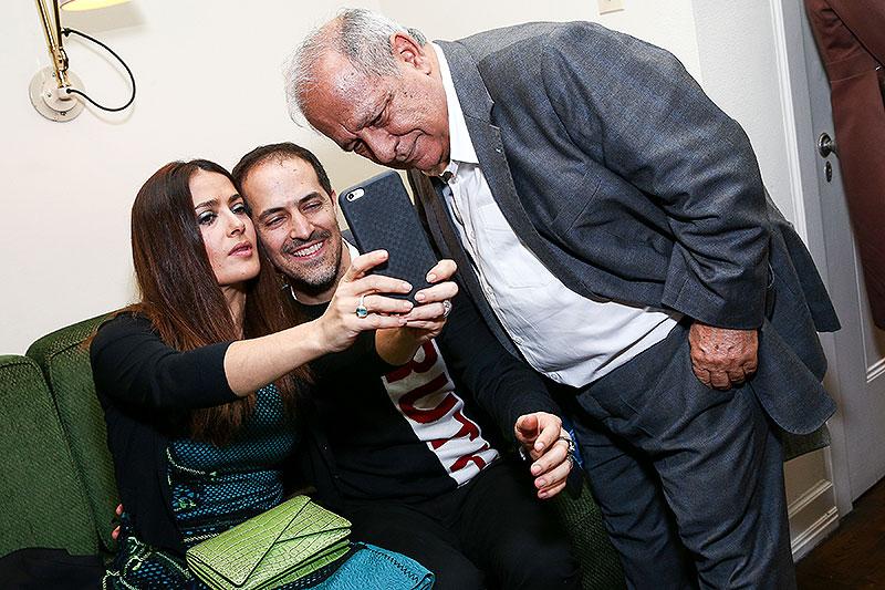 Salma Hayek, Sami Hayek, Sami Hayek jr., Míralos