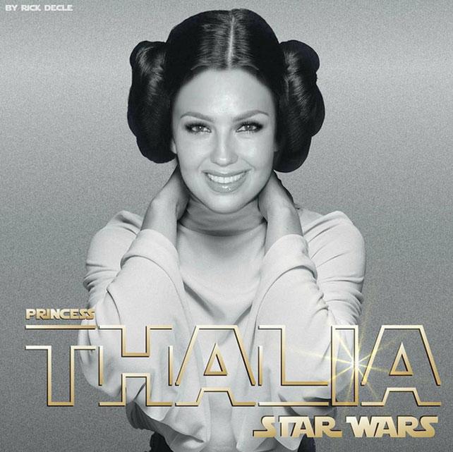 Fiebre de Star Wars, Thalía