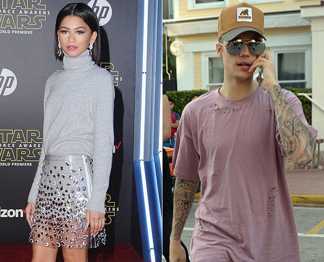 Parejas para Bieber, Zendaya Coleman