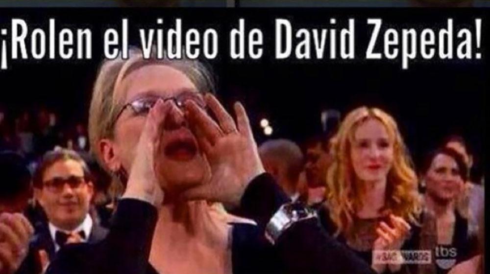 David Zepeda meme