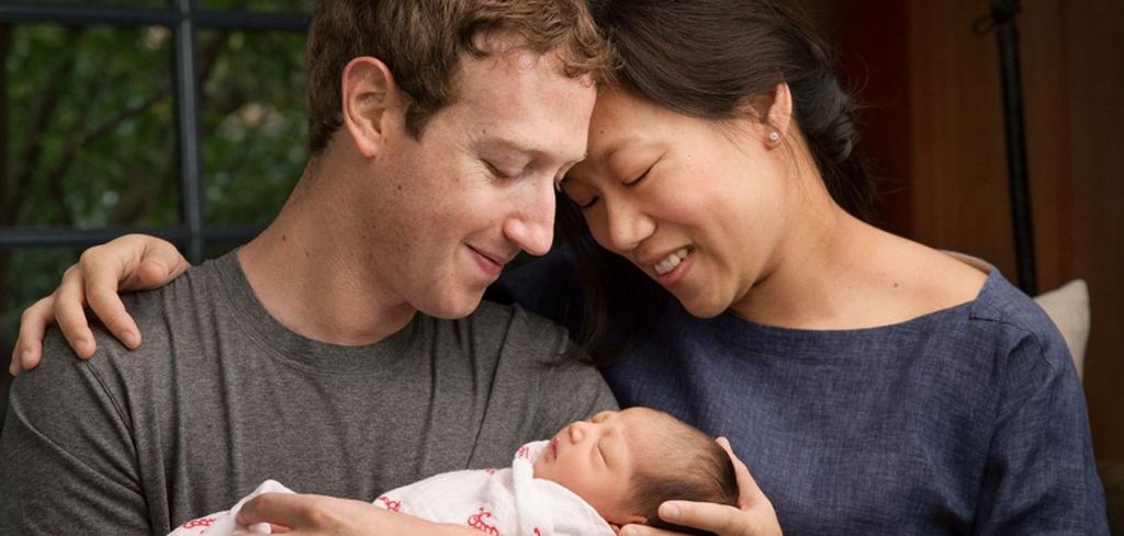 Mark Zuckerberg, Priscilla Chan, Max