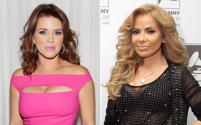 Alicia Machado y Gloria Trevi